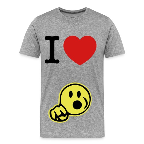 I love head - Men's Premium T-Shirt