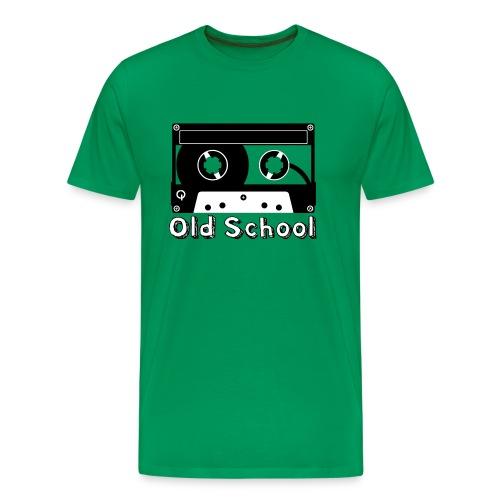 Old School Mens T-Shirt Select Colors - Men's Premium T-Shirt