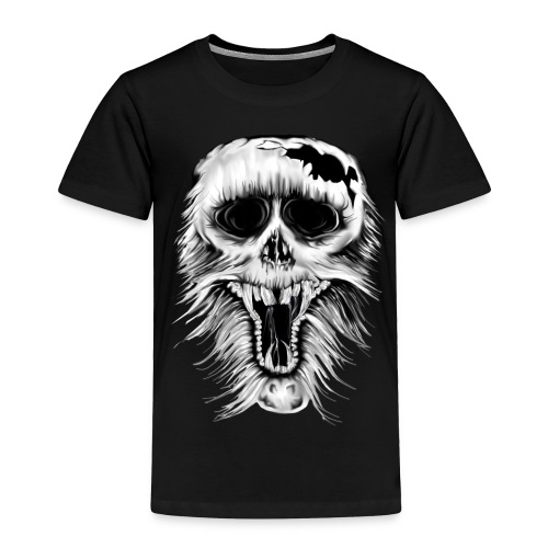 One Nasty Skull - Toddler Premium T-Shirt