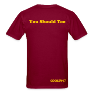 T-Shirts ~ Men's T-Shirt ~ I Hate NYG Burgundy