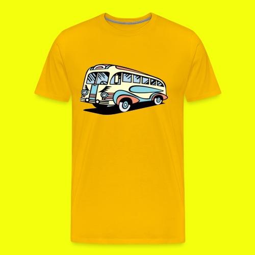 yelloow bus - Men's Premium T-Shirt