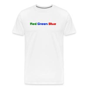 what color ? - Men's Premium T-Shirt