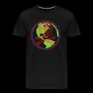 T-Shirts ~ Men's Premium T-Shirt ~ Hack the Planet! Men's T-Shirt