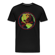 T-Shirts ~ Men's Premium T-Shirt ~ Hack the Planet! Men's T-Shirt