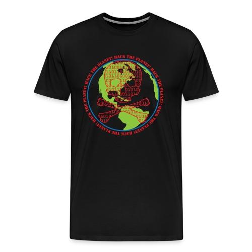 Hack the Planet! Men's T-Shirt - Men's Premium T-Shirt
