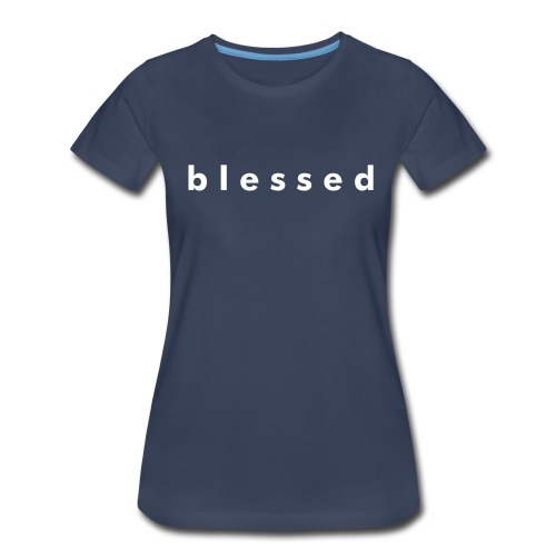 Blessed plus size standard weight tee - Women's Premium T-Shirt