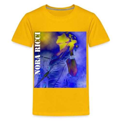 Blue Nora Kid's Tee - Kids' Premium T-Shirt
