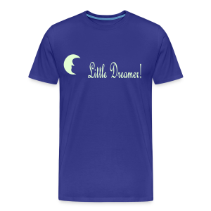 Little Dreamer glows in the dark - Men's Premium T-Shirt