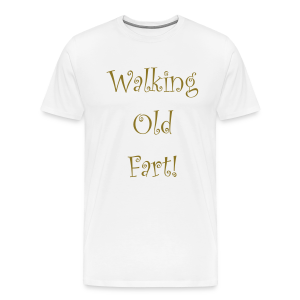 Walking old fart - Men's Premium T-Shirt