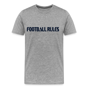 football rules - Men's Premium T-Shirt