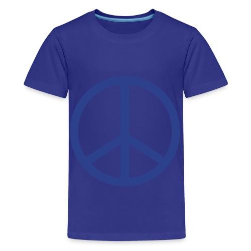 Peace sign for children shirt - Kids' Premium T-Shirt