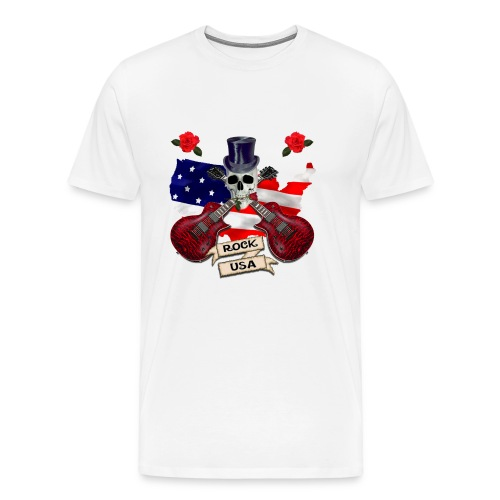 Rock usa - Men's Premium T-Shirt