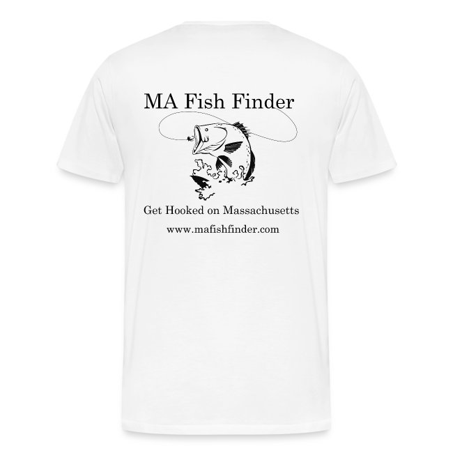 MA Fish Finder T-Shirt (Natural)