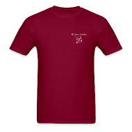 T-Shirts ~ Men's T-Shirt ~ NY Fish Finder T-Shirt (Burgundy)