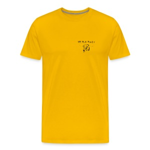 NY Fish Finder T-Shirt (Yellow) - Men's Premium T-Shirt