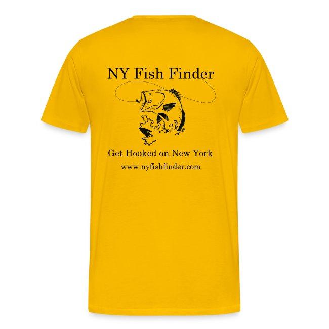 NY Fish Finder T-Shirt (Yellow)