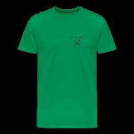 T-Shirts ~ Men's Premium T-Shirt ~ NY Fish Finder T-Shirt (Sage)