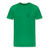 T-Shirts ~ Men's Premium T-Shirt ~ NJ Fish Finder T-Shirt (Sage)