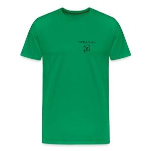 NJ Fish Finder T-Shirt (Sage) - Men's Premium T-Shirt