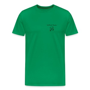 NJ Fish Finder T-Shirt (Sage) - Men's Premium T-Shirt
