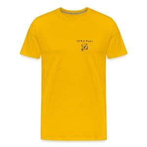 NJ Fish Finder T-Shirt (Yellow) - Men's Premium T-Shirt