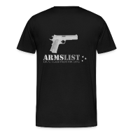 T-Shirts ~ Men's Premium T-Shirt ~ ARMSLIST 1911 XXXL