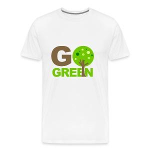going green - Men's Premium T-Shirt