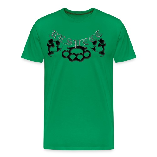 respect me! - Men's Premium T-Shirt