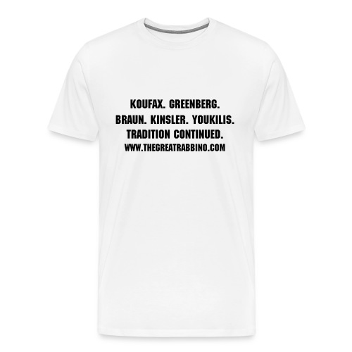 TGR Tradition Continued Tee - Men's Premium T-Shirt