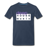 T-Shirts ~ Men's Premium T-Shirt ~ Deep House Music