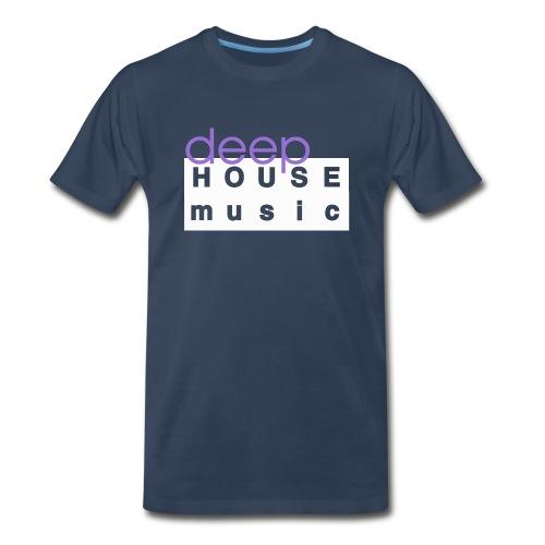 Deep House Music - Men's Premium T-Shirt