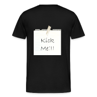 T-Shirts ~ Men's Premium T-Shirt ~ Kick Me