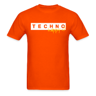T-Shirts ~ Men's T-Shirt ~ Techno Happy