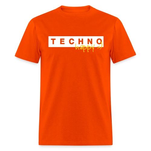 Techno Happy - Men's T-Shirt