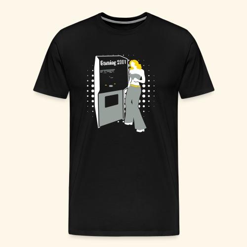 Gaming2001 (silver) - Men's Premium T-Shirt