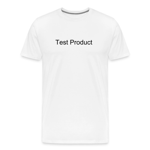 Test Shirt - Men's Premium T-Shirt