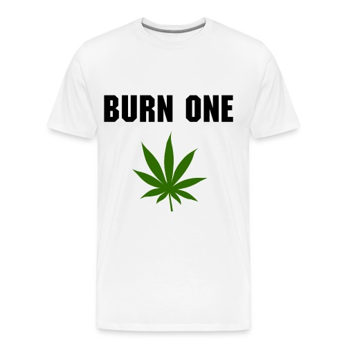 Burn One - Men's Premium T-Shirt