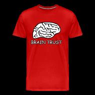 T-Shirts ~ Men's Premium T-Shirt ~ Brain Trust Shirt