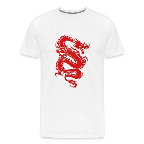 KDragonwht2 - Men's Premium T-Shirt