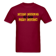 T-Shirts ~ Men's T-Shirt ~ Chris Cooley is my Life Coach