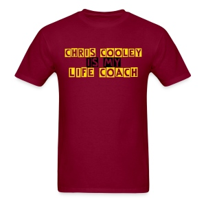 Chris Cooley is my Life Coach - Men's T-Shirt