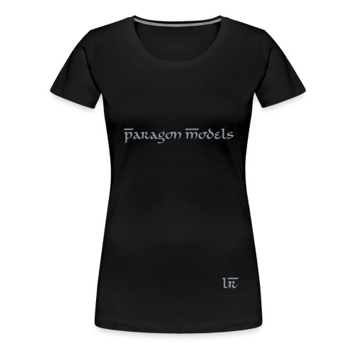 Plus BlkTee - Women's Premium T-Shirt