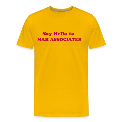 Mah Associates Men's Tee - Men's Premium T-Shirt