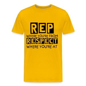 Rep Where You're From - Men's Premium T-Shirt