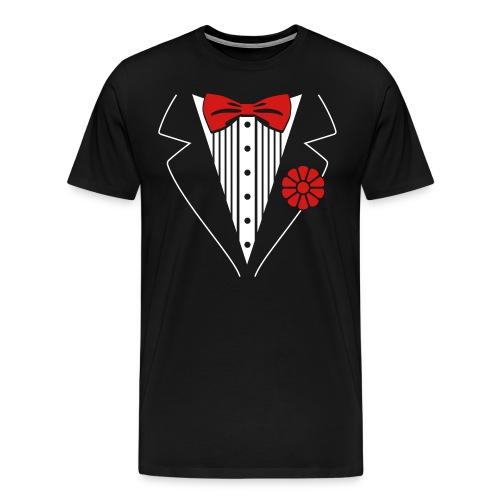 Faux Tux - Men's Premium T-Shirt