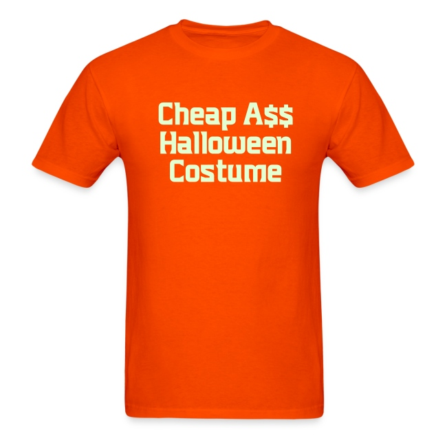 Cheap Ass Halloween Costume