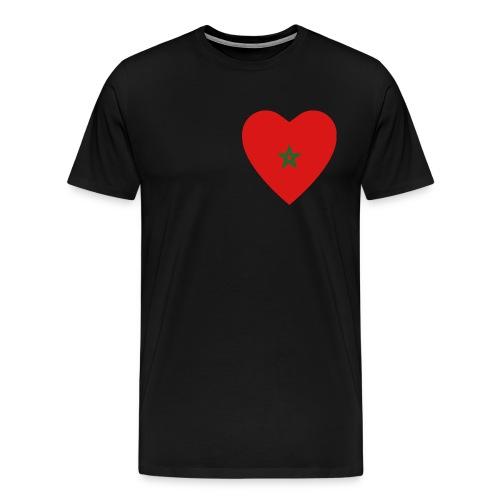 Morocco Heart - Men's Premium T-Shirt