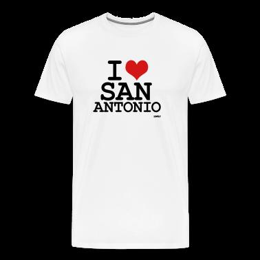 I love san antonio by wam t shirt spreadshirt for Screen print shirts san antonio