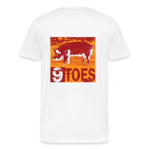 9 Toes BBQ - Men's Premium T-Shirt