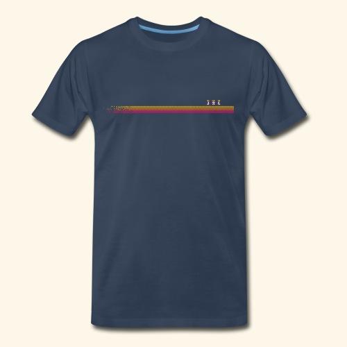 Robo-Collection: Pixelstripe - Men's Premium T-Shirt